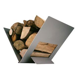 euroheat alumat triangular log store 330mm - Fireplace Log Holder