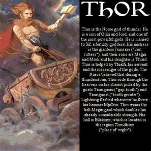Norse mythology Thor