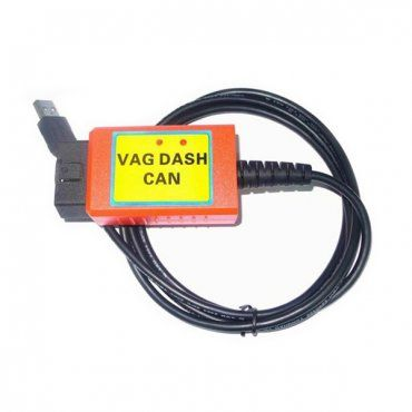 VAG Dash CAN V5.14 is a professional VAG group ECU reading and immo box information reading tool. It can used on BOSCH EDC15, BOSCH EDC16, ME7.* /MED 9.5,ME7 CHANNELS.