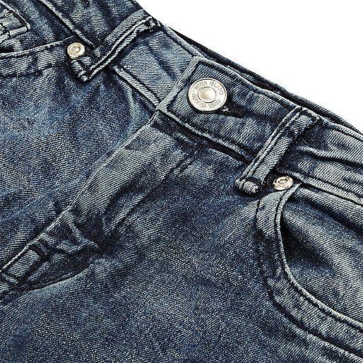 Blauwe Sid skinny jeans voor jongens