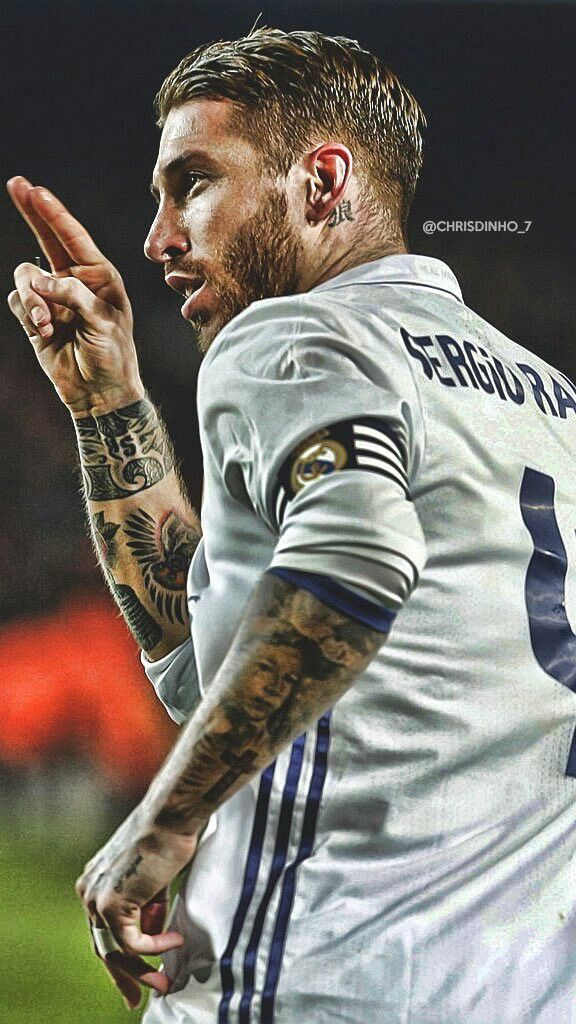 Captain Sergio Ramos. Real Madrid. El Clasico