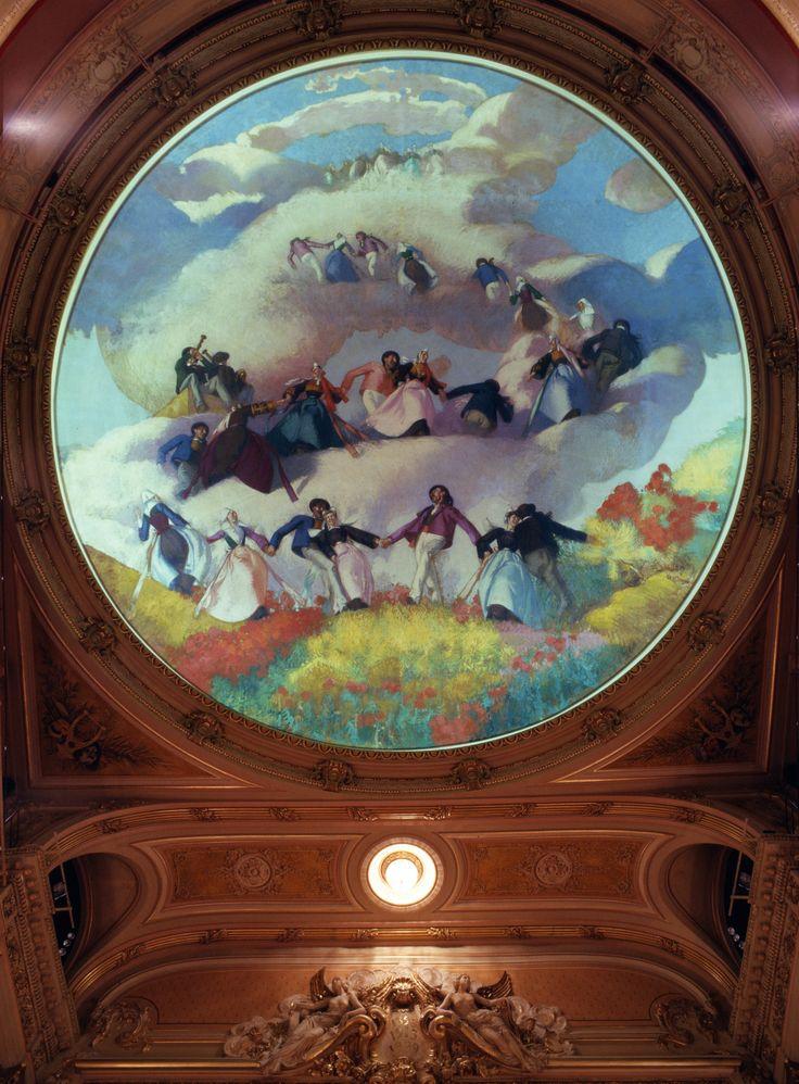 Opéra de Rennes - Ciel de Jean - Julien Lemordant (France) ©DR
