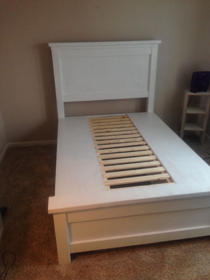 Ana White Build A Farmhouse Storage Bed With Drawers