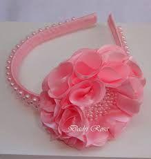 Картинки по запросу artesanato tiara de cabelo feito com tecido passo a passo