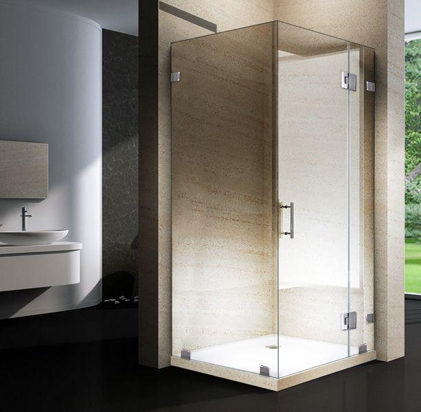 Die besten 25 duschabtrennung glas ideen auf pinterest for Luxus shower doors