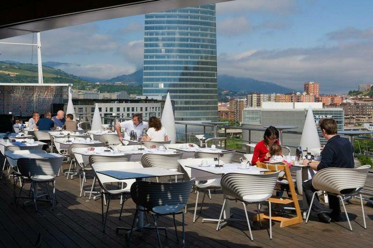 41 best terrazas silken images on pinterest decks - Restaurante hotel domine bilbao ...