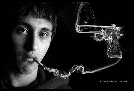 10 pubs créatives contre le tabagisme ! - Out the Box !