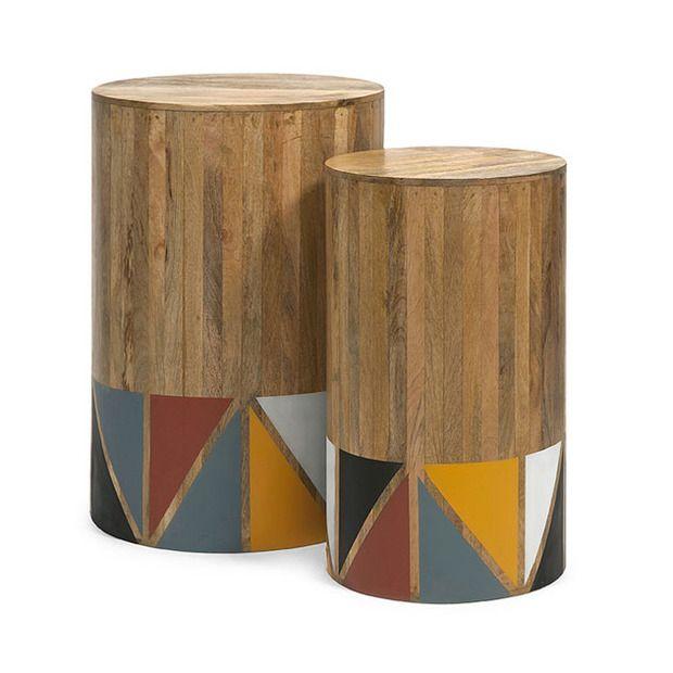 Mango Side Tables - Set of 2