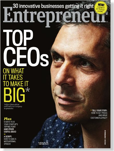 Our latest Netpage-enabled magazine. Entrepreneur October 2013. Clipped from Entrepreneur US using Netpage.