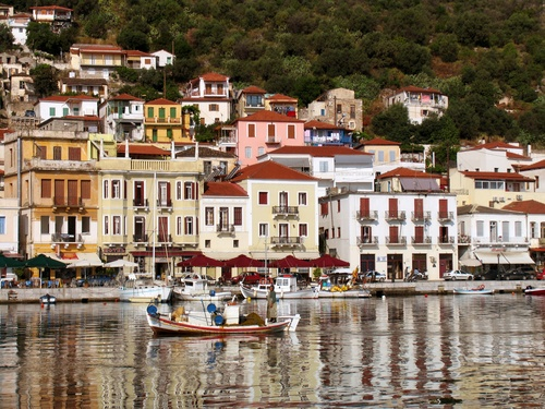 """Gythion, Greece- aka the """"Port of Sparta""""- where my family is from and is one of the friendliest and most beautiful places I've ever been"""