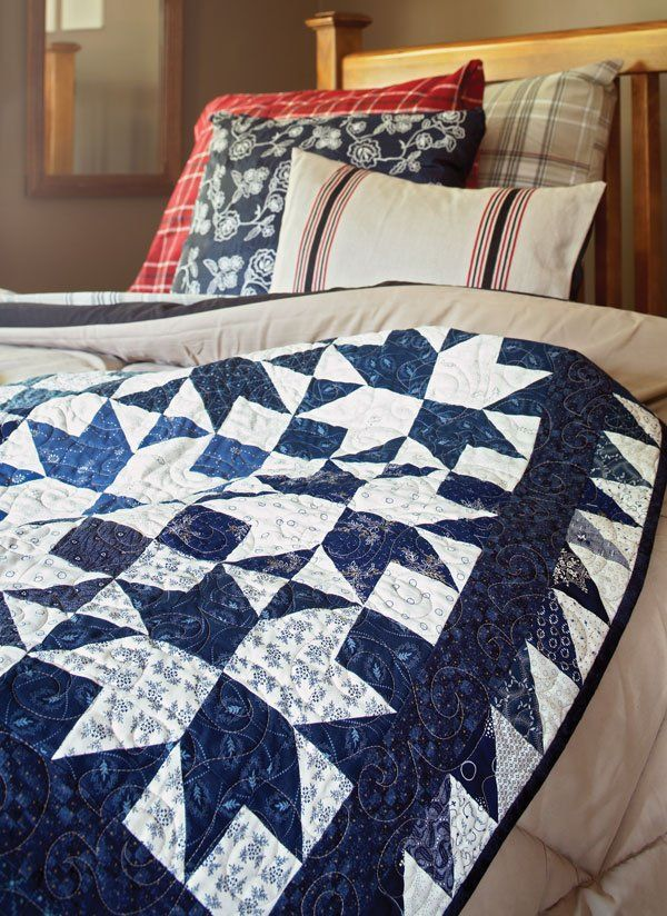 78 best Get Scrappy images on Pinterest | Crafts, Home and Ideas : two color quilts free patterns - Adamdwight.com
