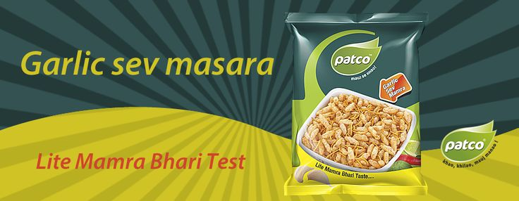 Our range of Garlic Sev Mamara  is in high demand in the market. These #garlicsevmamara are also known as Sev Mamra, Lasania Sev Mamra, Plain Sev Mamra. These are manufactured using pure quality ingredients and are packed in hygienic packets. #Patcofoods procure the ingredients from our trusted vendors and quality check before the final processing of the product.