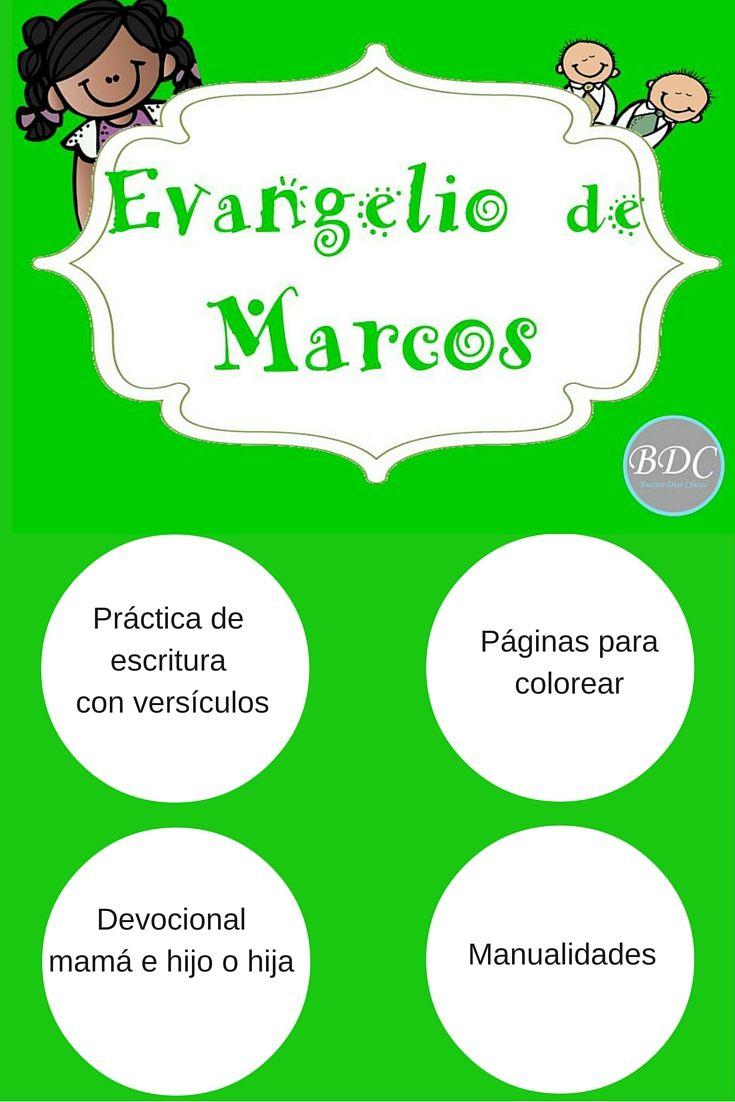 Devocional del evangelio de marcos para ni os gratis con - Paginas de manualidades ...