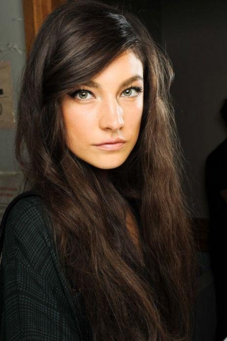 .: Hair Colors, Dark Hair, Eye Makeup, Dark Eye, Long Hair, Hair Makeup, Brown Hair, Green Eye, Jacquelyn Jablonski