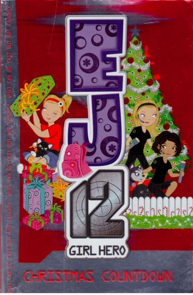 EJ12 - Girl Hero - Christmas Countdown - Paperback - S/Hand