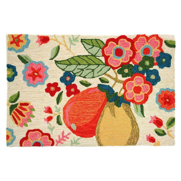 Homefires Golden Floral Pear Indoor Doormat - PY-LAY004
