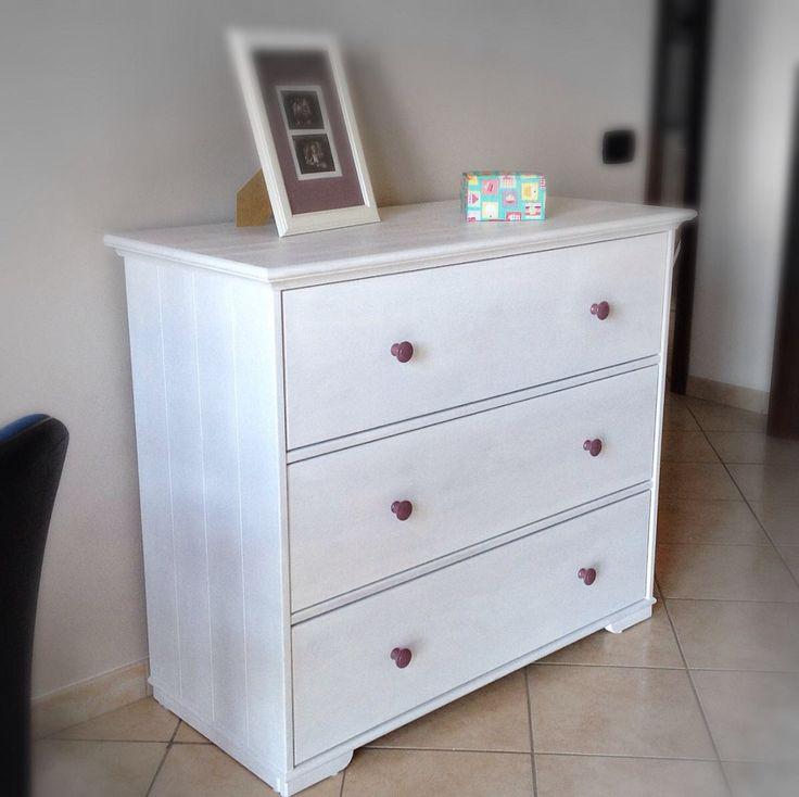 17 migliori idee su interni bianchi su pinterest divano - Fasciatoio cassettiera ikea ...