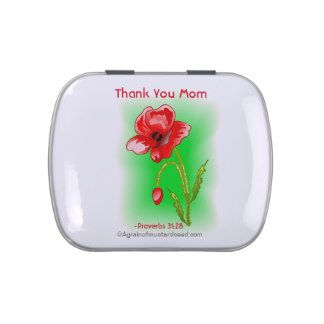 Mothers Day Jelly Bean Tins Gifts on Zazzle