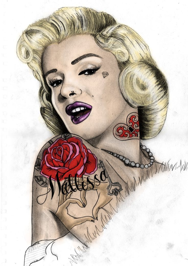 256 best images about marilyn monroe tatts ilove on for Marilyn monroe tattoo canvas