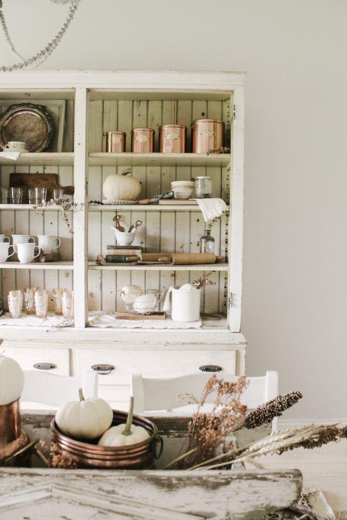 Antique Farmhouse Dining Room Cabinet Sarah Jane Interiors In 2020 Antique Dining Room Cabinet Dining Room Cabinet Farmhouse Dining