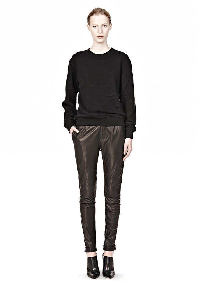 Alexander Wang - Ottoman Double Knit Sweatshirt Thumb