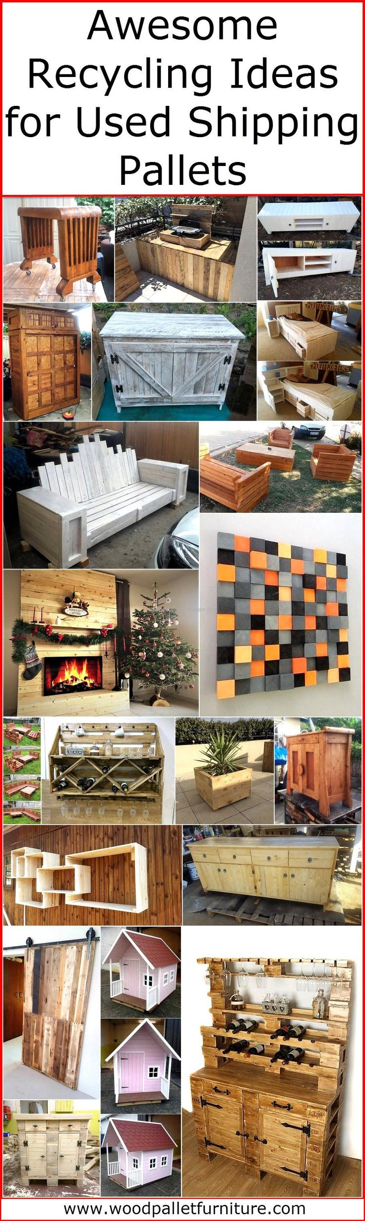 Pallets Knutselen 25 Recycled Shipping Pallet Decoration Ideas Inspirational