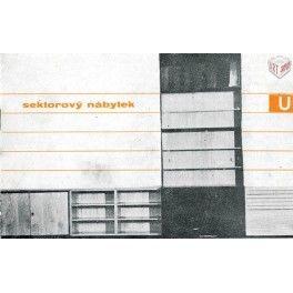 sektorový nábytek U, katalog