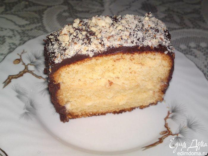 Бостонский пирог в шоколадной глазури - видеорецепт | Кулинарные рецепты от «Едим дома!»