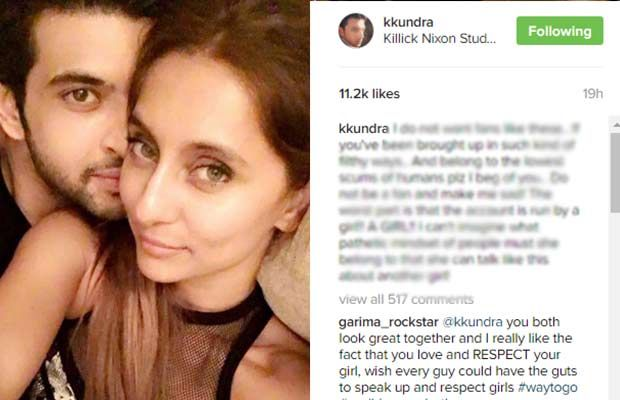 Karan Kundra Gives A Tough Reply To His Fan For Calling Girlfriend Anusha Dandekar A Pro*sti*ute