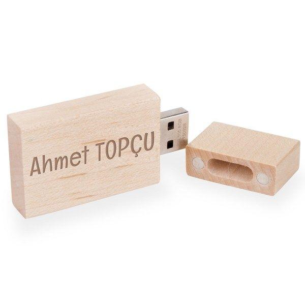 Ahşap Tasarımlı USB Bellek