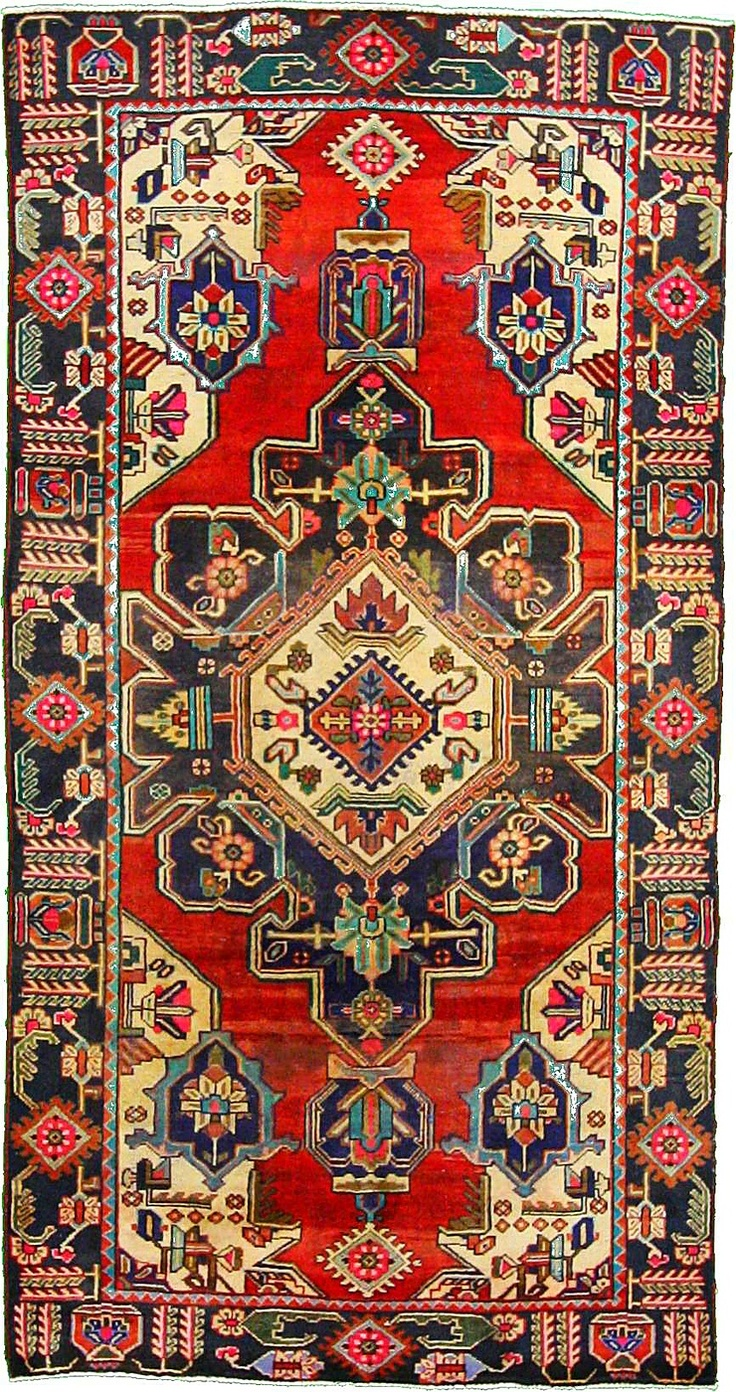 5 0 x 9 8 Red Bakhtiar Persian Rugs
