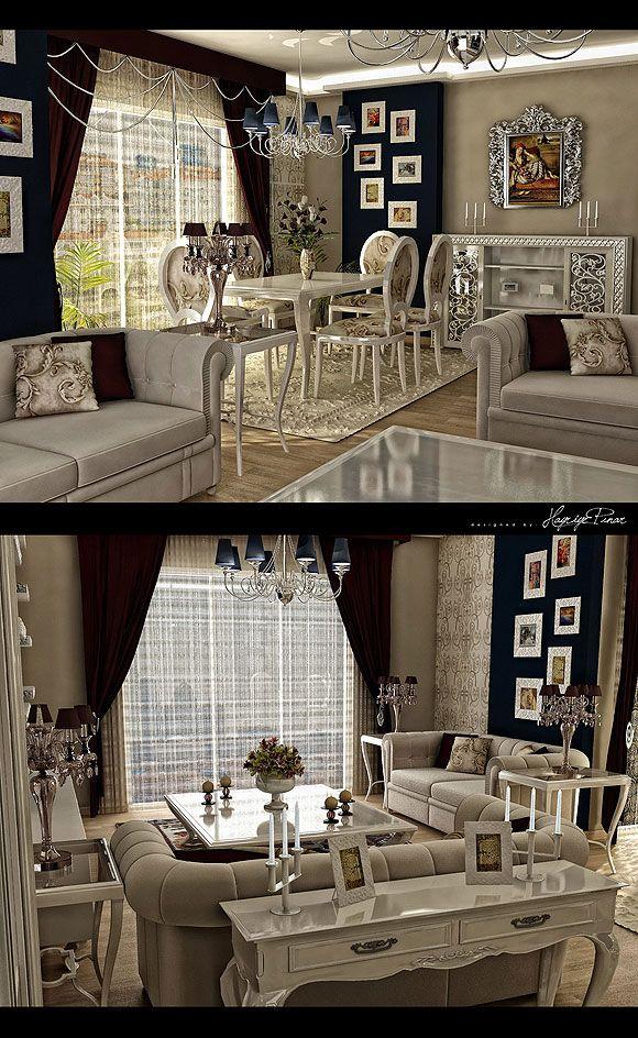 New City Sadikoglu Living Room Design