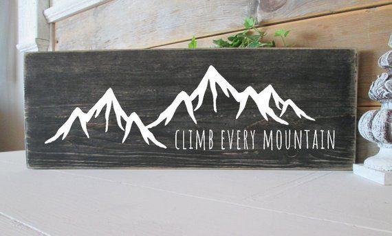 Climb each mountain signal