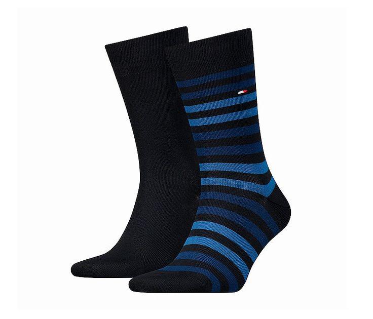 Estos son los Packs de calcetines de Tommy Hilfiger. Los calcetines están de moda, con colores poco discretos y muy informales.  + modelos en varelaintimo.com
