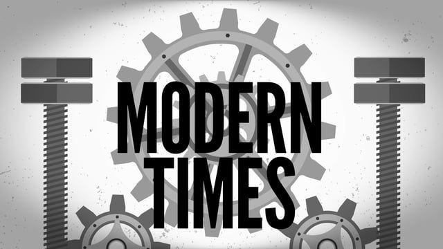 #ModernTimes Motion Graphic project | October 2016 | Roberto Gracía