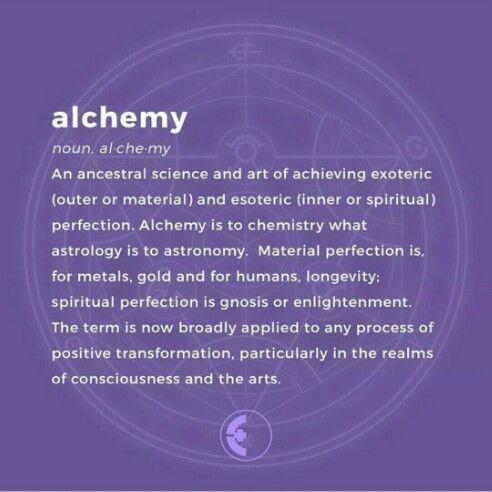 Alchemy Definition | #alchemy #definitions