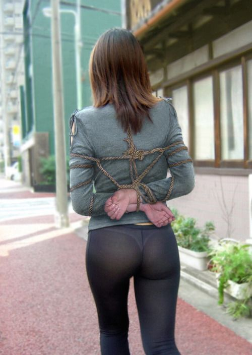 Tied up yoga pants-2689