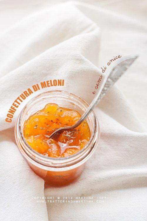 Confettura di melone e semi di anice con etichette da scaricare per decorare i vasetti! - Trattoria da Martina - cucina tradizionale, regionale ed etnica