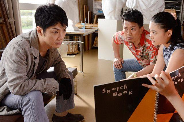 野村萬斎の「スキャナー 記憶のカケラをよむ男」の画像