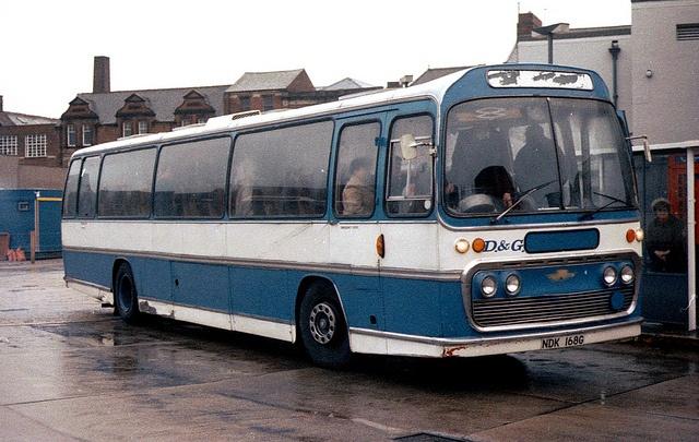 Ex-Yelloway AEC Reliance Plaxton NDK168G in Carlisle Bus Station | Flickr - Photo Sharing ...