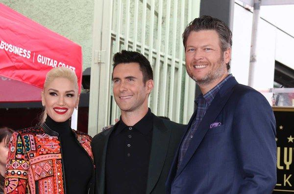 """Adam Levine Says Blake Shelton and Gwen Stefani Are """"Wildly Affectionate,"""" Which Sounds Super Intense"""