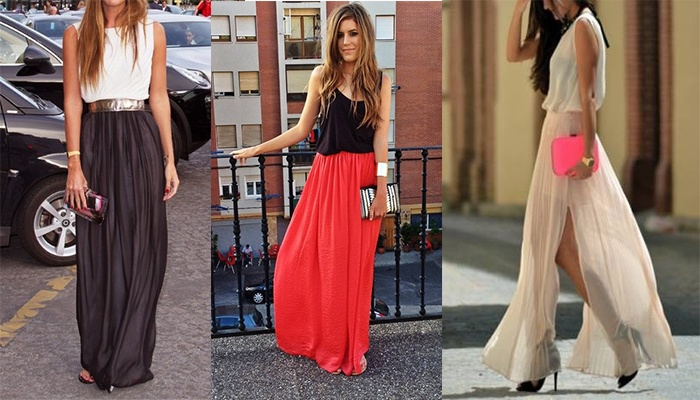 Saia longa para o Natal: Fashion, Skirts, Christmas, Long Skirt, Style Feminino, Diy
