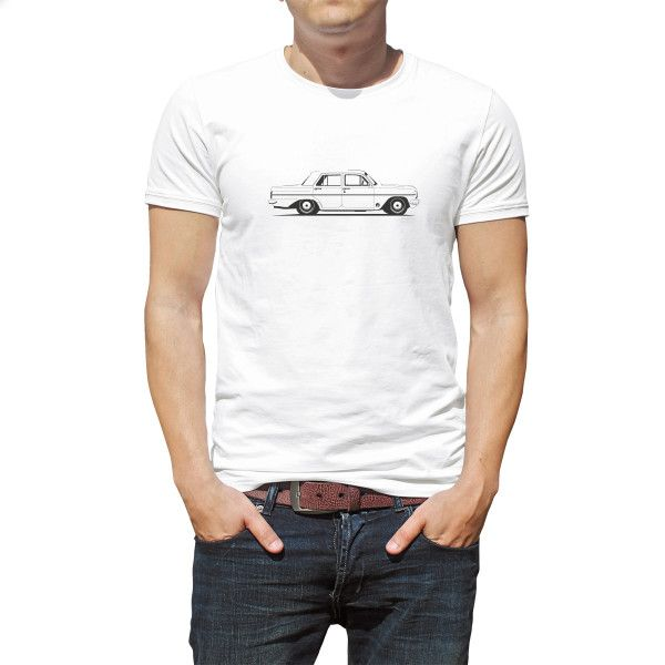 EH Holden on the side organic t-shirt