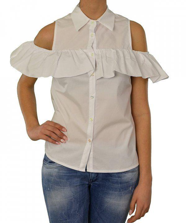 Γυναικείο πουκάμισο Lipsy λευκό με βολάν 1170505D #γυναικείαπουκάμισα #ρούχα #στυλάτα #fashion #μόδα #γυναίκες #βραδυνά #μεταξωτά