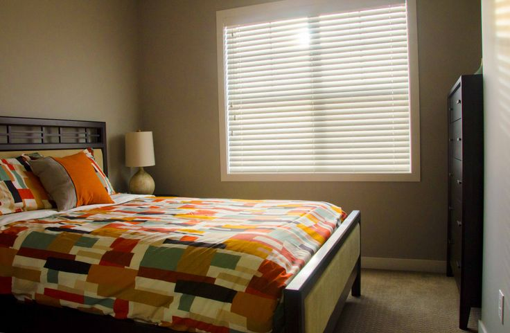 Bedroom 2 of The Arrival our most popular show home model at Sonoma Sage Hill in Calgary