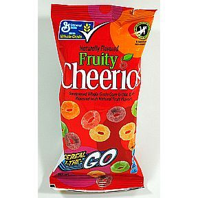 General Mills Fruity Cheerios Cereal On-the-Go  #snack #cereal