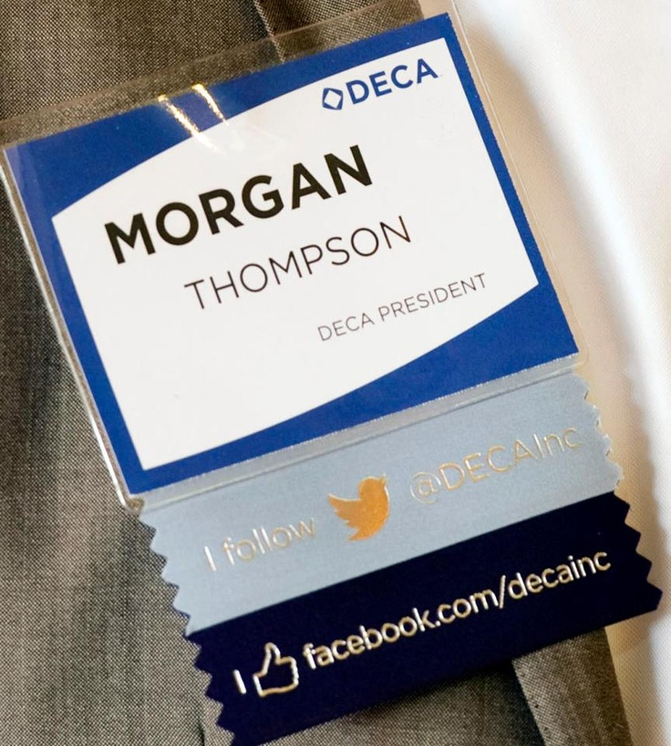 Deca lead social media correspondent student conference