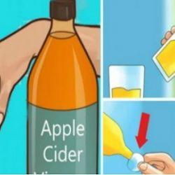 Beber vinagre de manzana antes de acostarse va a cambiar su vida para siempre!
