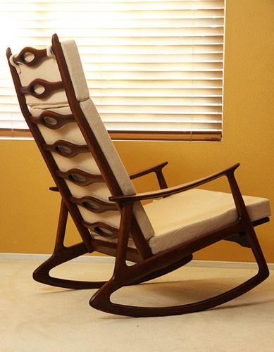 Mid century Modern Hans Wegner Rocking Chair