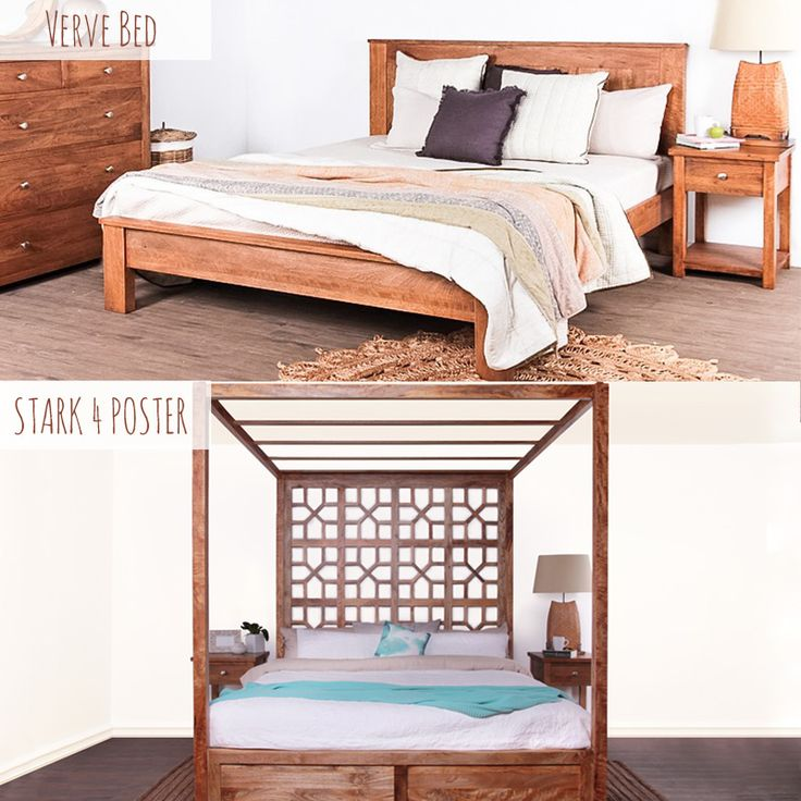 Today's battle is for which bed you'd rather for a Sunday sleep-in...Stark 4 Poster vs Verve Bed, what's your pick?